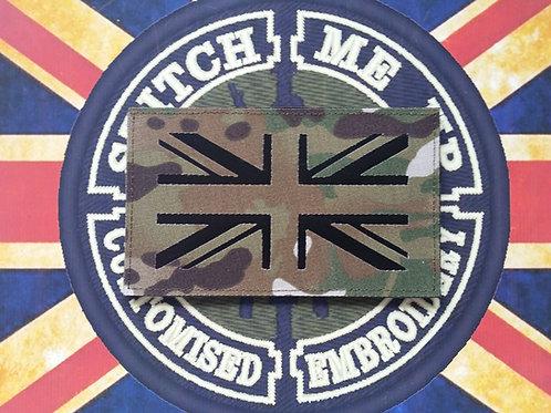 PRECISION CUT UNION FLAG PLAIN VINYL