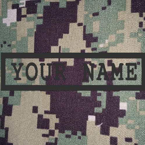 PERSONALISED EMBROIDERED NAME-TAPES IN AOR2
