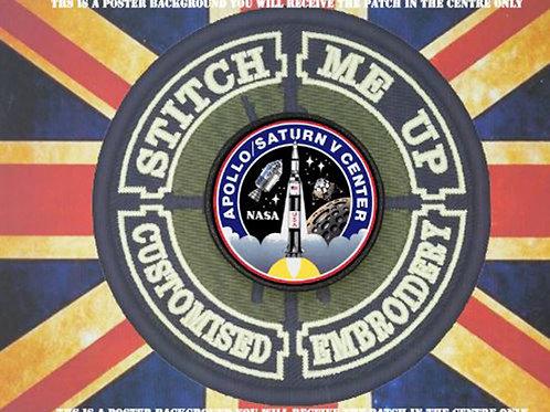 NASA MISSION PATCH - KENNEDY APOLLO / SATURN
