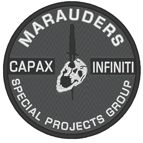EMBROIDERED TEAM - MARAUDERS SPECIAL PROJECTS GROUP