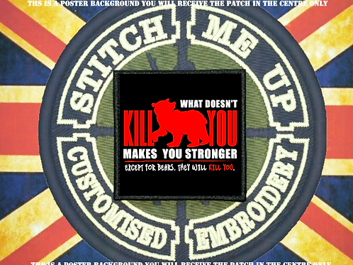 MORALE PATCH - WHAT DOESNT KILL YOU