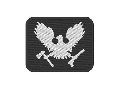 """EMBROIDERED PATCH """"STATE OF DECAY"""" LOGO"""