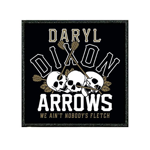 THERMAL VINYL PATCH - WALKING DEAD DARYL DIXON