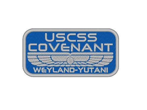 EMBROIDERED PATCH - USCSS COVENANT - ALIEN COVENANT