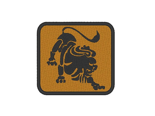 EMBROIDERED LEO PATCH - ZODIAC COLLECTION