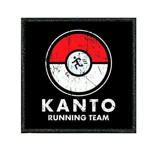 THERMAL VINYL PATCH - POKEMON KANTO RUNNING TEAM