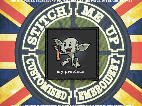 LORD OF THE RINGS PATCH - GOLLUM