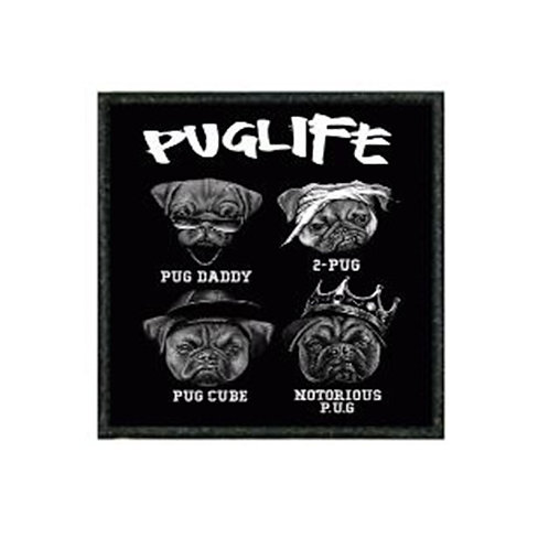 THERMAL VINYL PATCH - PUG LIFE