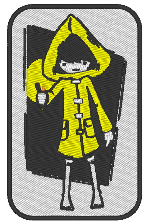"GAME - COSPLAY PATCH -LITTLE NIGHTMARES ""SIX"""