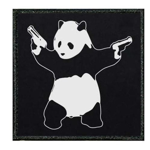 THERMAL VINYL -BANKSY - PANDA WITH GUNS