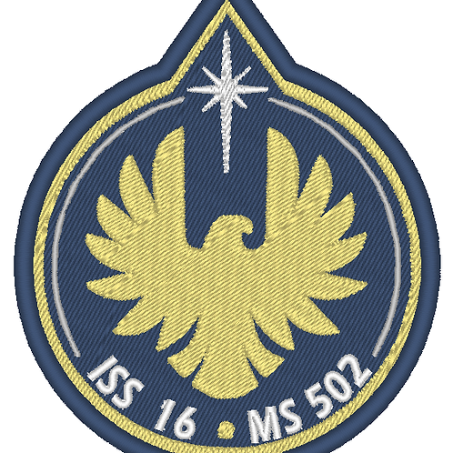 THE EXPANSE EMBROIDERED EAGLE PATCH AMOS BURTON