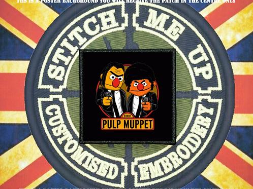 PULP FICTION - MUPPETS PATCH