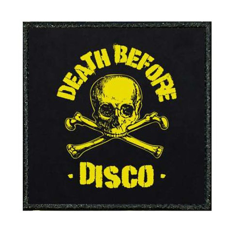 THERMAL VINYL PATCH - DUKE NUKEM DEATH BEFORE DISCO