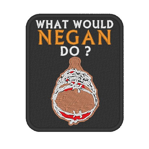 WALKING DEAD WHAT WOULD NEGAN DO PATCH