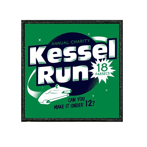 THERMAL VINYL PATCH - STAR WARS KESSEL RUN