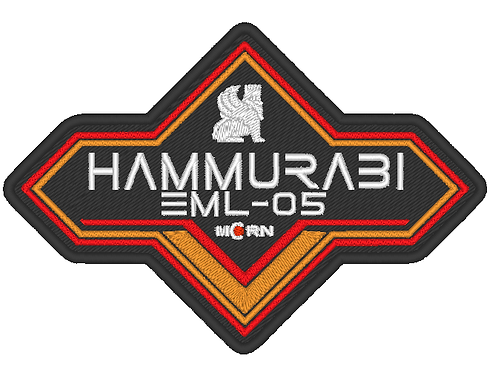 THE EXPANSE - M.C.R.N HAMMURABI EMBROIDERED SHIP PATCH