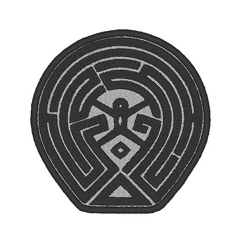 TV/ MOVIE - COSPLAY PATCH - WESTWORLD MAZE MAP