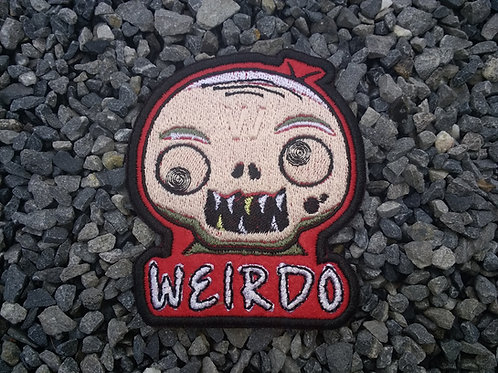 EMBROIDERED MORALE PATCH - WEIRDO