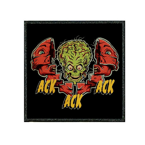 THERMAL VINYL PATCH - MARS ATTACKS