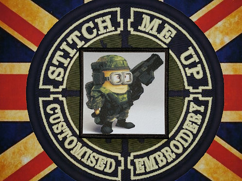 MINIONS - COLONIAL MARINE PATCH
