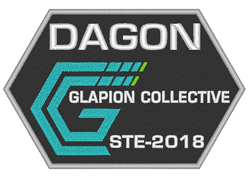 THE EXPANSE - DAGON GLAPION COLLECTIVE EMBROIDERED PATCH