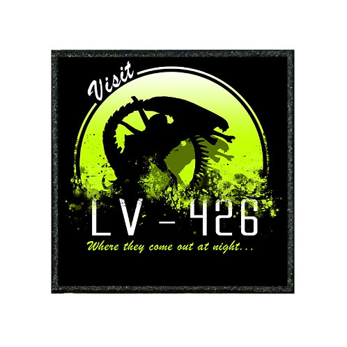 THERMAL VINYL PATCH - ALIENS VISIT LV-426