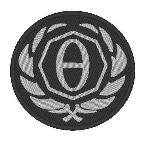 GAME - COSPLAY PATCH -SOMA THETA BADGE