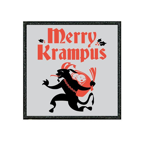 THERMAL VINYL PATCH - MERRY KRAMPUS