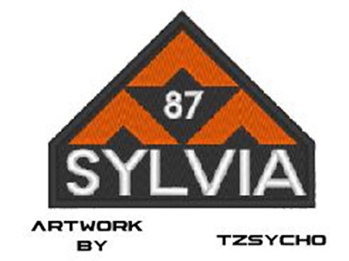 TV/ MOVIE - COSPLAY PATCH - THE EXPANSE 87 SYLVIA LOGO