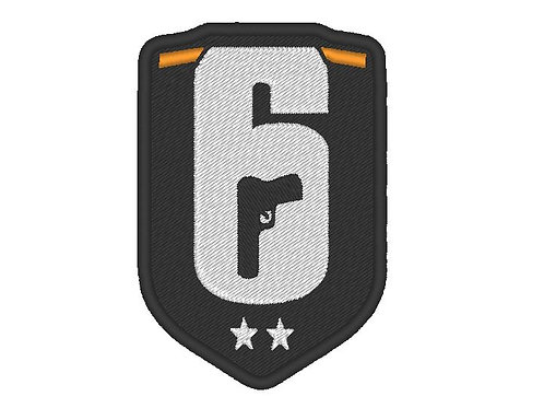 RAINBOW SIX LOGO PATCH