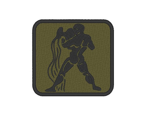 EMBROIDERED AQUARIUS PATCH - ZODIAC COLLECTION