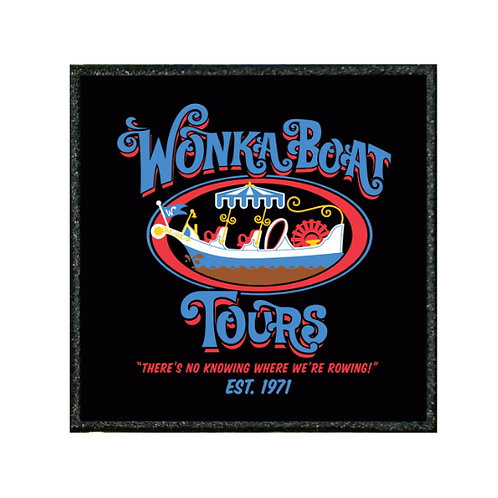 THERMAL VINYL PATCH - WILLY WONKA BOAT TOURS