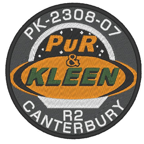 THE EXPANSE -CANTERBURY PUR N KLEEN SHIP PATCH