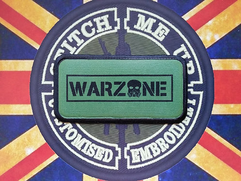 WARZONE PATCH GREEN