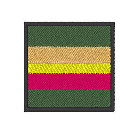 HOME DEFENCE FORCE VOLUNTEERS TRF (BLACK BORDER)