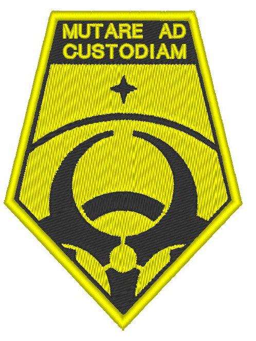 copy of EMBROIDERED XCOM - MUTARE AD CUSTODIAM