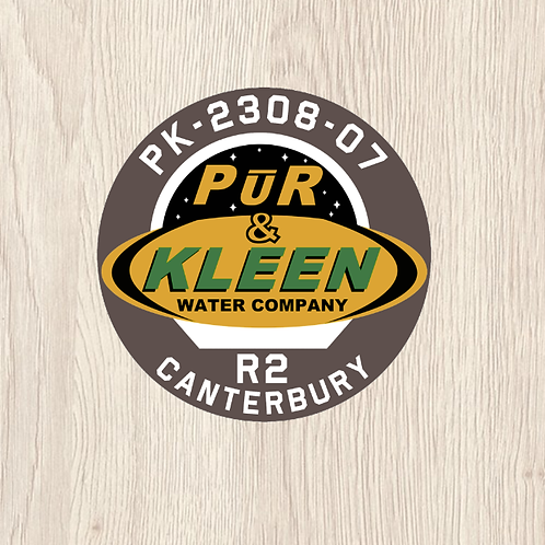 The Expanse PUR N KLEEN CANTERBURY Patch in LoPro Polyflex 2D Polymer