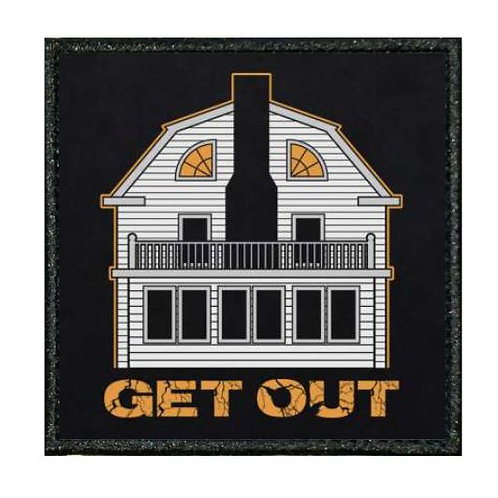 """THERMAL VINYL AMITYVILLE HORROR """"GET OUT"""""""
