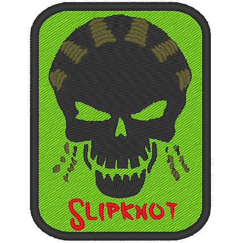 EMBROIDERED TV / MOVIE PATCH - SUICIDE SQUAD LOGO SLIPKNOT