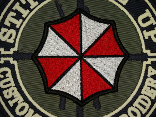 Embroidered Resident Evil Umbrella Corps Logo
