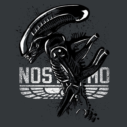 THERMAL VINYL PATCH -ALIENS NORTROMO AND ALIEN