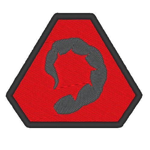 COMMAND & CONQUER BROTHERHOOD OF NOD BADGE