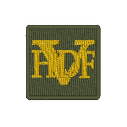 HDF(V) CAP BADGE