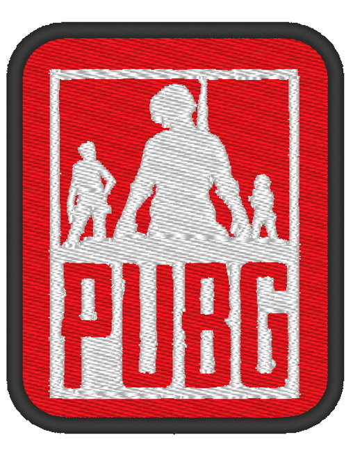 GAME - COSPLAY PATCH - PUBG PLAYER UNKNOWN BATTLEGROUNDS LOGO