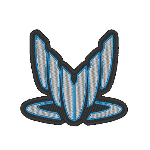 EMBROIDERED MASS EFFECT SPECTRELOGO PATCH