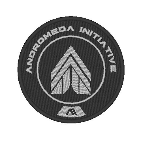 EMBROIDERED MASS EFFECT ANDROMEDA INITIATIVE APEX PATCH
