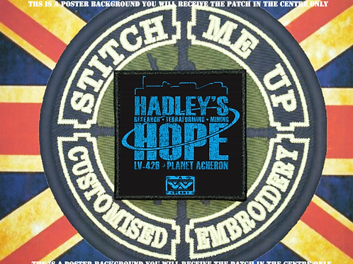 ALIENS PATCH - HADLEYS HOPE