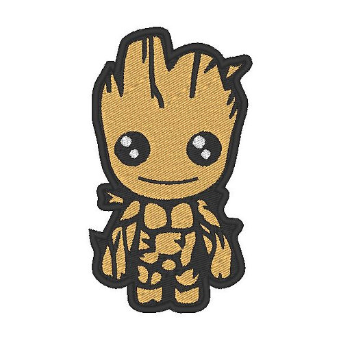 TV/ MOVIE - COSPLAY PATCH - GUARDIANS OF THE GALAXY BABY GROOT