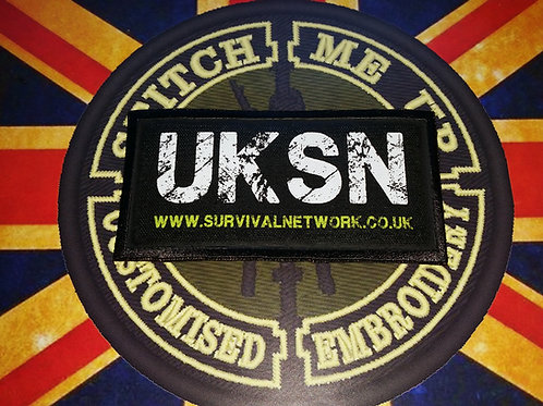 OFFICIAL UK SURVIVAL NETWORK BANNER STYLE PATCH