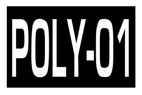 LoPro Polyflex 2D Polymer Patch - CALLSIGN PERSONALISED BLACK & WHITE